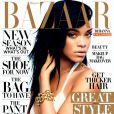 Rihanna pour l'édition américaine du magazine  Harper's Bazaar , août 2012.