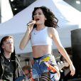 Jessie J sur scène au Wireless Festival, à Londres, le 8 juillet 2012.
