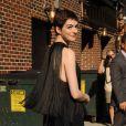 Anne Hathaway à New York, le 11 juillet 2012.