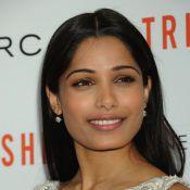 Freida Pinto : Envoyée spéciale très stylée à New York pour le film Trishna