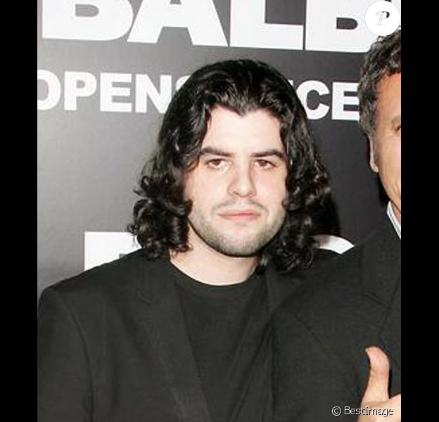 Sage Stallone, fils de Sylvester Satallone, en décembre 2006 à Los Angeles pour l'avant première de Rocky Balboa