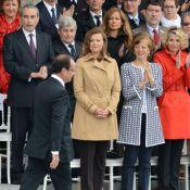 Valérie Trierweiler : Sage au défilé du 14 juillet, François Hollande la recadre