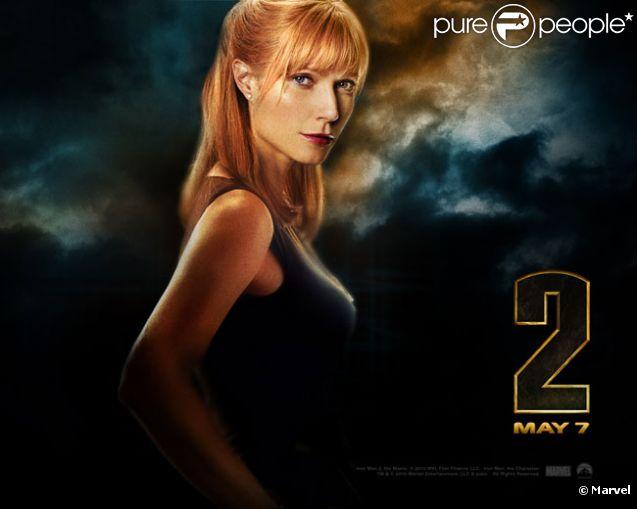 Gwyneth Paltrow dans  Iron Man 2  (2010).