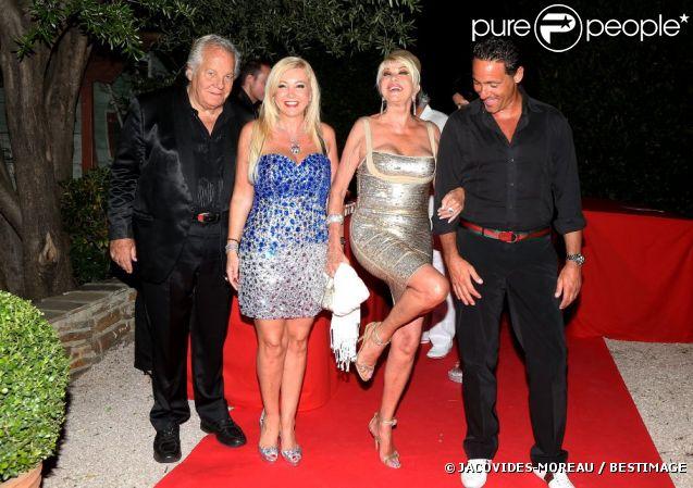 Ivana Trump, son jeune amoureux et Massimo Gargia, réunis pour Monika ...
