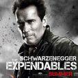 Arnold Schwarzenegger dans  Expendables 2 : Unité spéciale , en salles le 22 août.