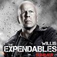 Bruce Willis dans  Expendables 2 : Unité spéciale , en salles le 22 août.