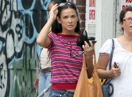 Demi Moore: Fière célibataire en mini-short, loin d'Ashton Kutcher et Mila Kunis