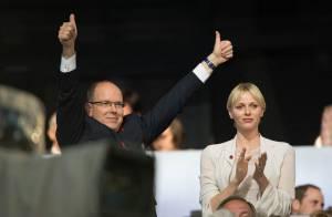 JO 2012 : Albert et Charlene de Monaco, déchaînés devant le show d'ouverture