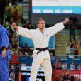 Hugo Legrand, le 29 juillet 2012 aux Jeux olympiques de Londres, médaillé de bronze en judo (-73 kilos)