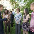 Le prince Harry recevait le 2 août 2012 à Clarence House de jeunes médaillés des récents School Games, dont il est président. Une rencontre qu'il a animée de son humour irrésistible, aux dépens notamment du secrétaire d'Etat Jeremy Hunt.