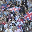 Andy Murray est devenu champion olympique en battant Roger Federer en finale le 5 août 2012 à Wimbledon à Londres