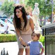 Kim Kardashian a passé la journée du dimanche 5 août avec son neveu, Mason
