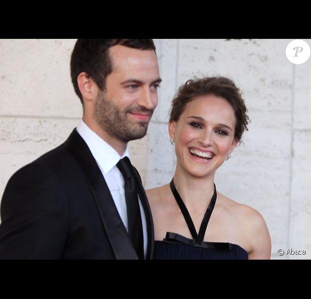 Natalie Portman et Benjamin Millepied à New York le 10 mai 2012