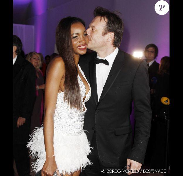 Samuel Le Bihan et Daniela en mai 2012 à Cannes.