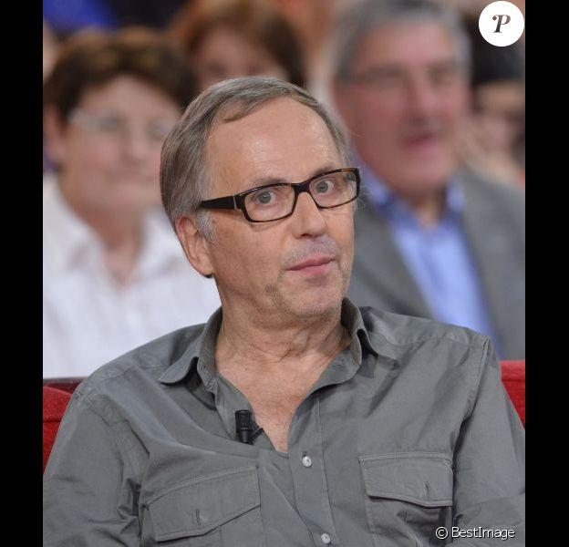 Fabrice Luchini le 6 novembre 2011 sur le canapé de l'émission Vivement dimanche