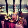 Laeticia Hallyday a photographié quelques friandises avant la fête d'anniversaire à Saint-Barthélemy pour ses filles Jade, 8 ans, et Joy, 4 ans. Photo partagée sur Instagram le 11 août 2012.