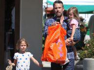 Ben Affleck, en vrai papa poule : Avec ses filles, il met le paquet