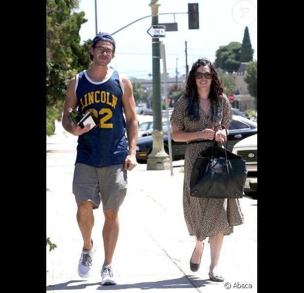 Rumer Willis et son petit ami Jayson Blair, à Los Angeles, le lundi 13 août 2012.