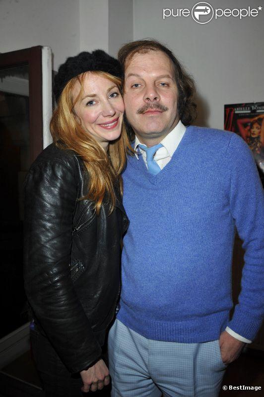 Julie Depardieu et Philippe Katerine le 27 janvier 2012 à Paris