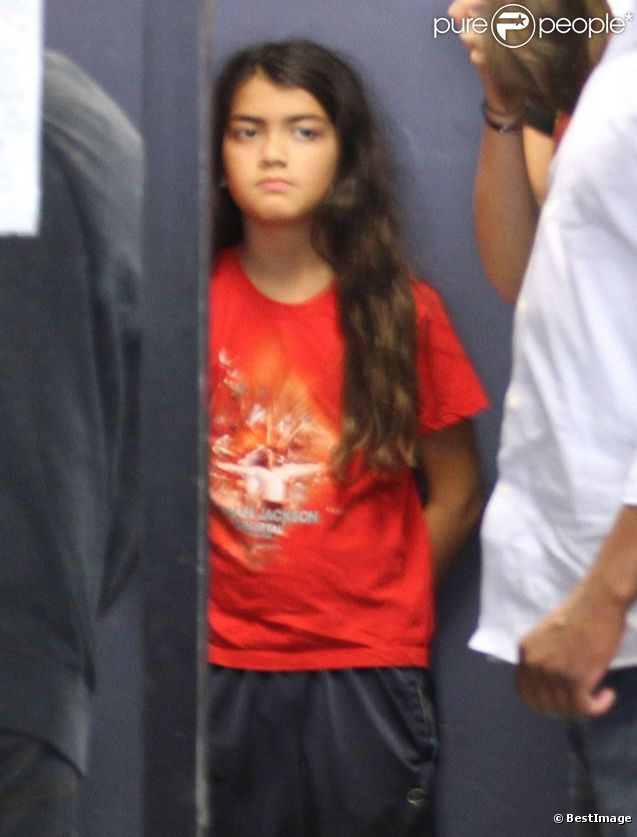 Blanket Jackson va chez son avocat dans West Hollywood le 13 août 2012