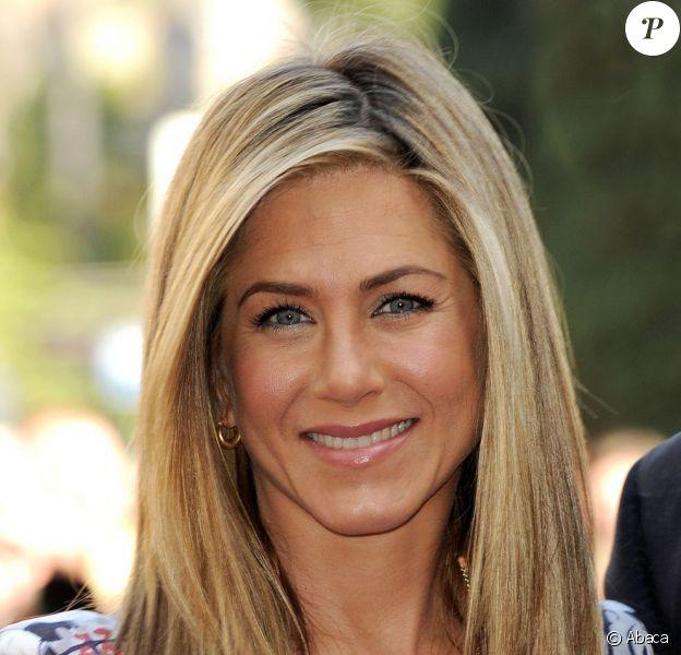 Jennifer Aniston à Los Angeles, le 22 février 2012.
