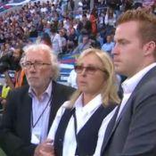 Thierry Roland : Françoise et Gary bouleversés lors de l'ovation au stade Océane