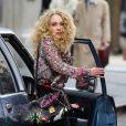 AnnaSophia Robb, la nouvelle Carrie Bradshaw, sur le tournage de  The Carrie Diaries  à New York, le 25 mars à New York.
