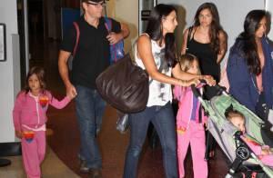 Matt Damon, seul mâle du clan : Papa heureux avec ses trois filles et sa femme
