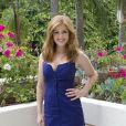 Isla Fisher à la conférence de presse de  Bachelorette  à Los Angeles, le 23 août.