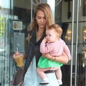 Jessica Alba : Pause tendresse avec ses filles pour l'actrice gourmande