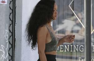 Rihanna à L.A. : Sage sirène le jour, bad girl obscène la nuit...