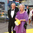 La princesse Christina et Tord Magnusen arrivant à la cérémonie du Polar Music Prize 2012, le 28 août 2012, à Stockholm.