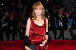 Mostra de Venise 2012 : Isabelle Carré enceinte et flamboyante