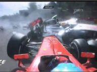 Romain Grosjean : Un spectaculaire accident et une lourde sanction