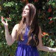 Radieuse, Lana Del Rey à Los Angeles le 6 août 2012