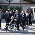 Obsèques de Stéphane Slima au crématorium de La Rochelle, le 3 septembre 2012.