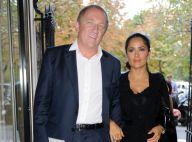 Salma Hayek : Superbe au bras de son François-Henri Pinault, le grand jeu !