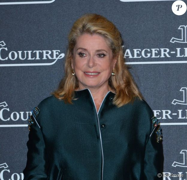 Catherine Deneuve lors de la soirée Jaeger-LeCoultre à Venise le 4 septembre 2012