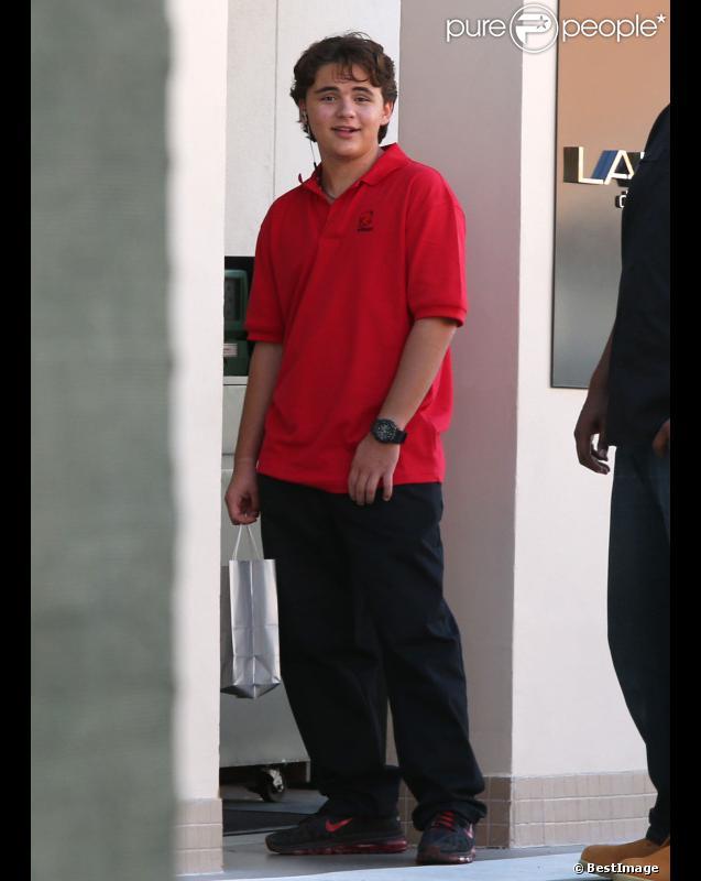 Prince Jackson à Calabasas, le vendredi 7 septembre 2012.