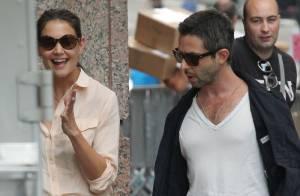 Katie Holmes affiche son sourire et relativise son divorce avec Tom Cruise