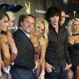 Pamela Anderson et Julian Perretta à la Playboy Party à Cologne le 1er septembre 2012