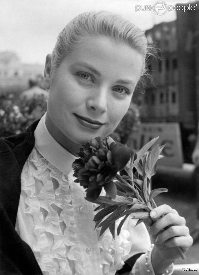 Grace Kelly, quelques jours avant son mariage avec le prince Rainier en 1956