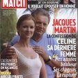 Jacques et Céline Martin en couverture de  Paris Match , août 2009.