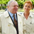 Jacques Martin et Céline près de Paris, le 5 mai 2004.
