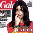 Jenifer en couverture de  Gala , en kiosques ce 12 septembre 2012.