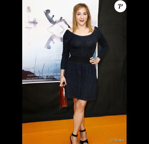 Marilou Berry au Festival de la fiction TV de La Rochelle, le 13 septembre 2012