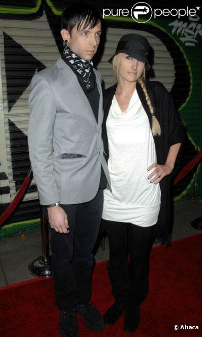 Billy Martin, du groupe Good Charlotte, et son épouse Linzi.