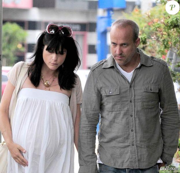 Selma Blair et son ex-compagnon Jason Bleick le 13 juillet 2011 à Los Angeles.