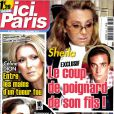Sheila et son fils Ludovic Chancel en couverture d' Ici Paris , en kiosques le 12 setembre 2012.