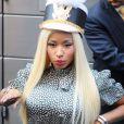 Nicki Minaj, ultra sexy dans son look Fendi, arrive au Lincoln Center pour les auditions d'American Idol. New York, le 17 septembre 2012.